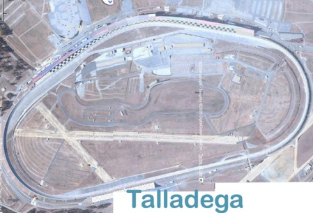 Talladega road course infrastructure